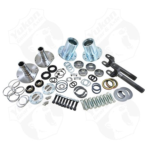 Spin Free Locking Hub Conversion Kit For 2009 Dodge 2500/3500 Yukon Gear & Axle Yukon KxK Indusrtries LLC