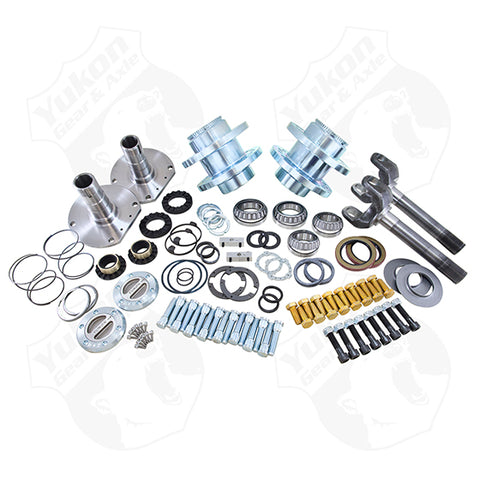 Spin Free Locking Hub Conversion Kit For 2010-2011 Dodge 2500/3500 DRW Yukon Gear & Axle Yukon KxK Industries LLC