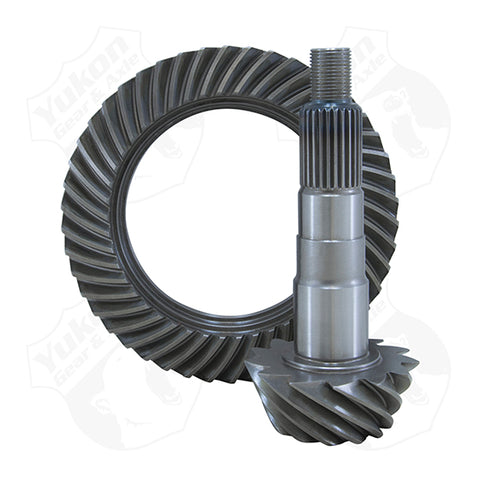 High Performance Yukon Ring And Pinion Replacement Gear Set For Dana 30 Short Pinion In A 4.56 Ratio Yukon Gear & Axle Yukon KxK Industries LLC