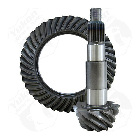High Performance Yukon Replacement Ring And Pinion Gear Set For Dana 44 JK In A 4.11 Ratio 24 Spine Yukon Gear & Axle Yukon KxK Industries LLC
