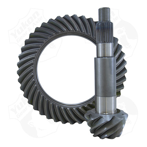 High Performance Yukon Replacement Ring And Pinion Gear Set For Dana 60 Reverse Rotation In A 4.56 Ratio Thick Yukon Gear & Axle Yukon KxK Industries LLC