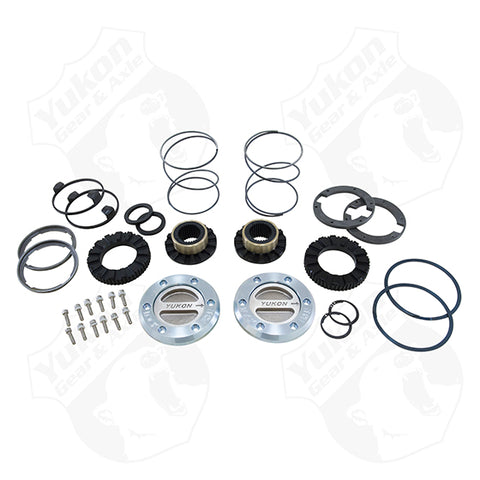 Yukon Hardcore Locking Hub Set For Dana 60 '75-'93 Dodge, '77-'91, GM '78-'97 Ford
