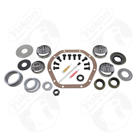 Master Overhaul Kit For Dana 44 Front & Rear For TJ Rubicon Only Yukon Gear & Axle