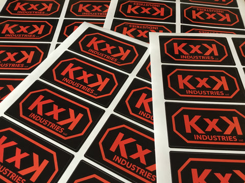 KxK Industries Sticker
