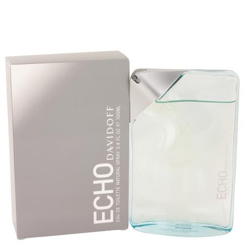 Echo by Davidoff Eau De Toilette Spray 3.4 oz (Men)