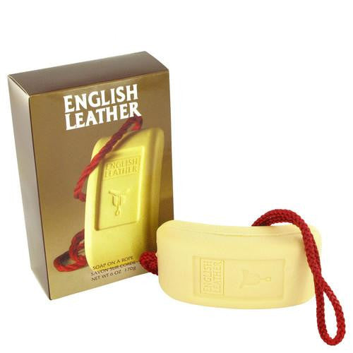 ENGLISH LEATHER by Dana Soap on a rope 6 oz (Men)