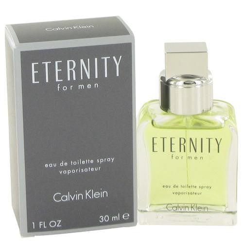ETERNITY by Calvin Klein Eau De Toilette Spray 1 oz (Men)