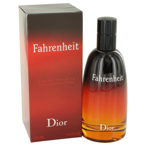 FAHRENHEIT by Christian Dior Eau De Toilette Spray 3.4 oz (Men)