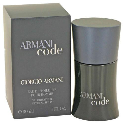 Armani Code by Giorgio Armani Eau De Toilette Spray 1 oz (Men)