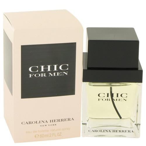 Chic by Carolina Herrera Eau De Toilette Spray 2 oz (Men)