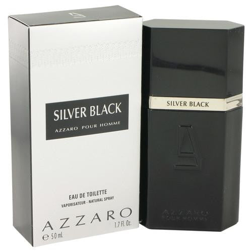 Silver Black by Azzaro Eau De Toilette Spray 1.7 oz (Men)