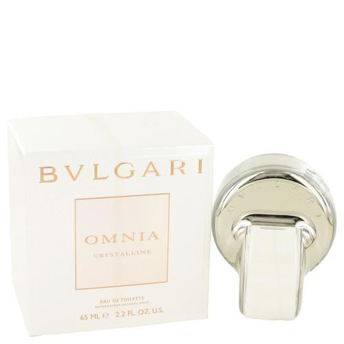 OMNIA CRYSTALLINE by Bvlgari Eau De Toilette Spray 2.2 oz (Women)