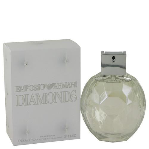 Emporio Armani Diamonds by Giorgio Armani Eau De Parfum Spray 3.4 oz (Women)