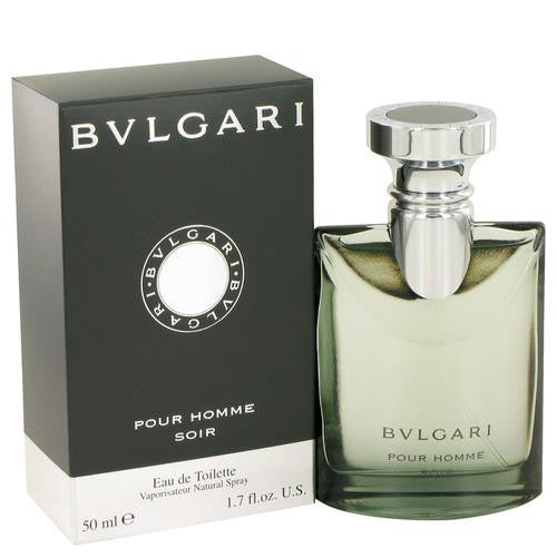Bvlgari Pour Homme Soir by Bvlgari Eau De Toilette Spray 1.7 oz (Men)
