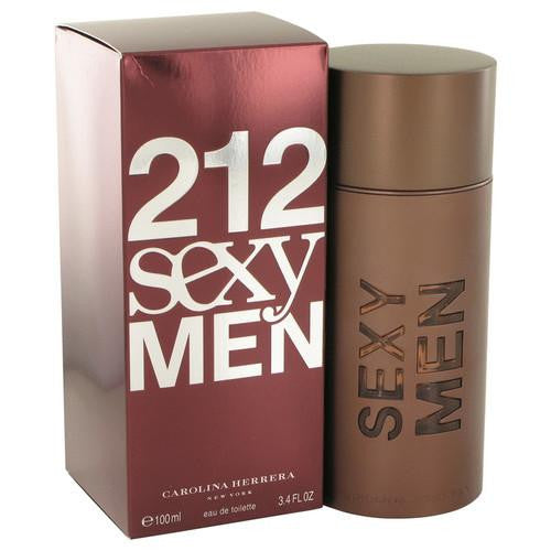 212 Sexy by Carolina Herrera Eau De Toilette Spray 3.3 oz (Men)