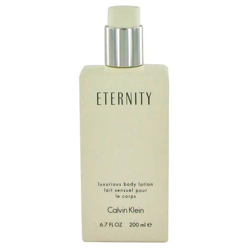 ETERNITY by Calvin Klein Body Lotion (unboxed) 6.7 oz (Women)