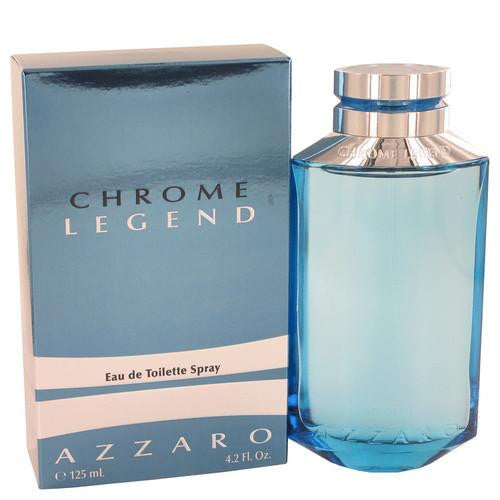 Chrome Legend by Azzaro Eau De Toilette Spray 4.2 oz (Men)