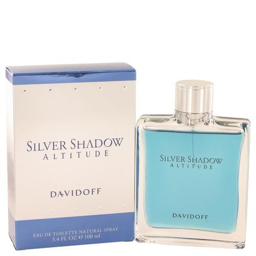 Silver Shadow Altitude by Davidoff Eau De Toilette Spray 3.4 oz (Men)