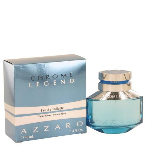 Chrome Legend by Azzaro Eau De Toilette Spray 1.4 oz (Men)