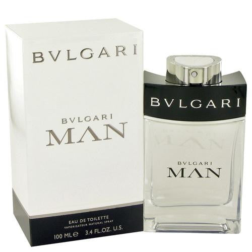 Bvlgari Man by Bvlgari Eau De Toilette Spray 3.4 oz (Men)