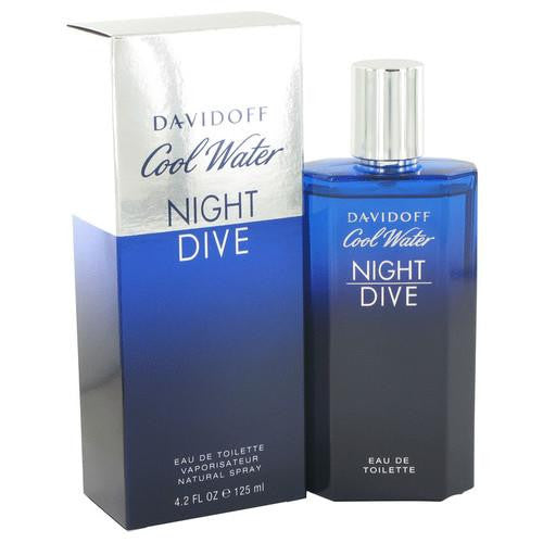 Cool Water Night Dive by Davidoff Eau De Toilette Spray 4.2 oz (Men)