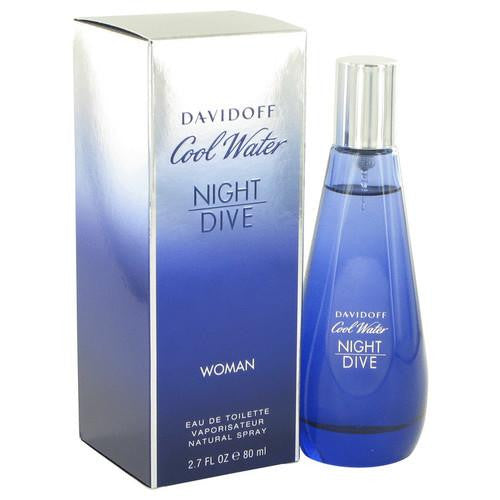 Cool Water Night Dive by Davidoff Eau De Toilette Spray 2.7 oz (Women)
