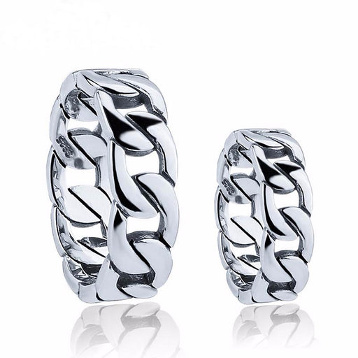 Hot 100% Real Pure 925 Sterling Silver Ring Lover's ring style Men / Women