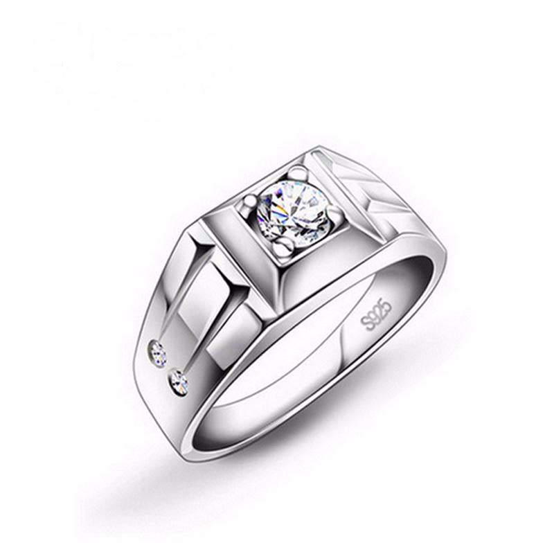 925 pure Sterling Silver rings for men