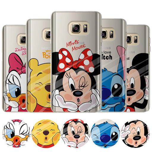 Mickey Minnie Case For Coque Samsung Galaxy Grand Prime S7,S8 Plus