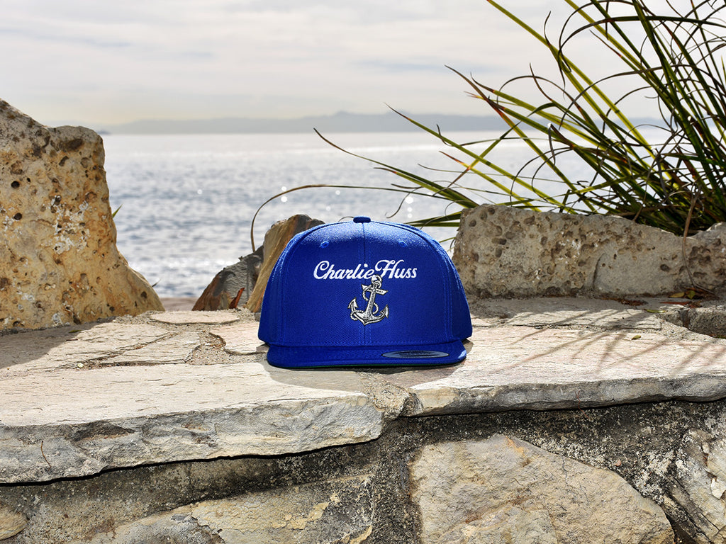 Charlie Huss Royal Blue Snapback Hat