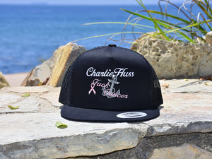 "Fuck Cancer Trucker Hat ""Charlie Huss"""