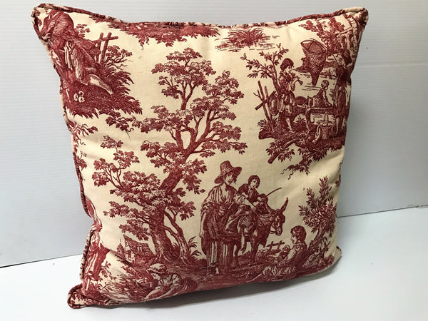 Vintage Family Square Pillow