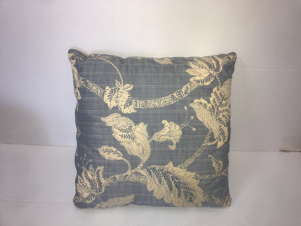 Grey/Pastel Pattern Square Pillow