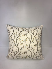 Tree Branch Pattern Square Pillow