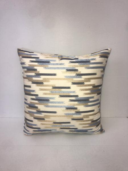 Gold Mosaic Pattern Square Pillow