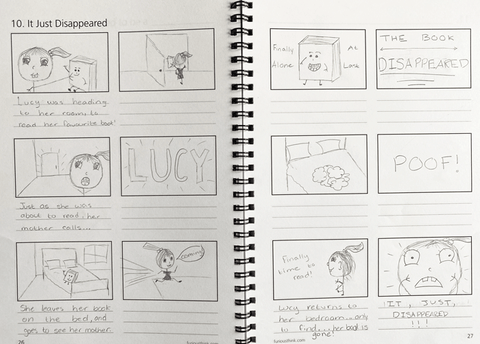 Storyboard Challenge sample page