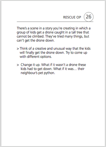 What's the Story sample page, scenario 26