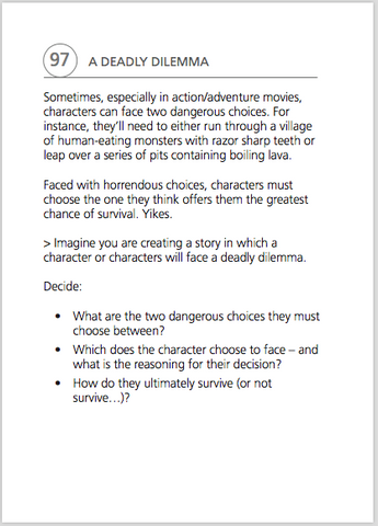What's the Story Sample page, scenario 97