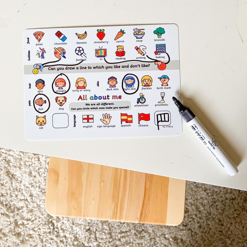 Illustrated Word Mats