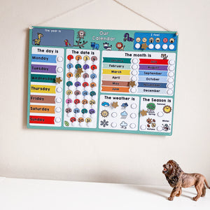 Children's Jungle Calendar