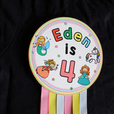 Personalised Birthday Badge