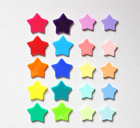 Acyrlic Star Tokens
