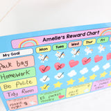 Unicorn Reward Chart Whiteboard