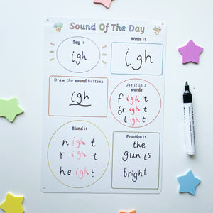 Sound of The Day Whiteboard