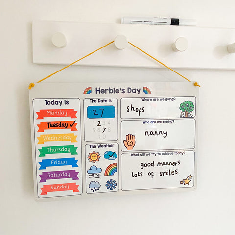 Our Day Personal Whiteboard