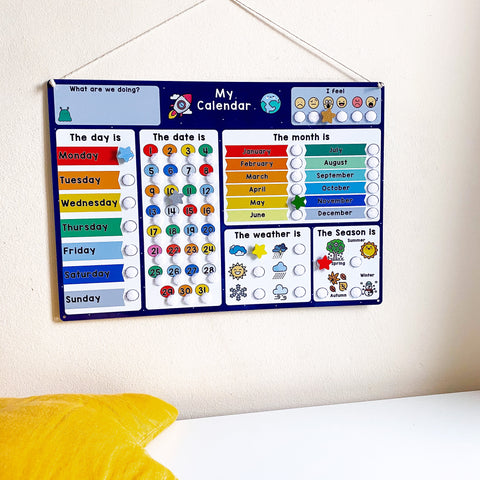 Children's Space Calendar