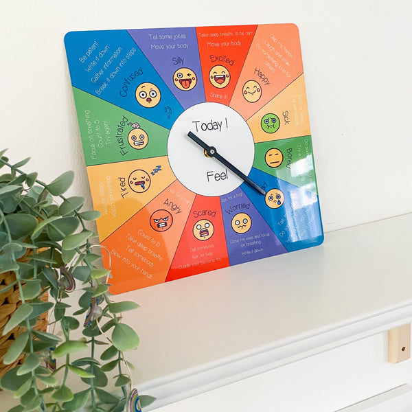 Feelings and Emotions Clock