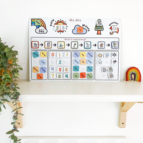 Children's Educational Calendar & Routine