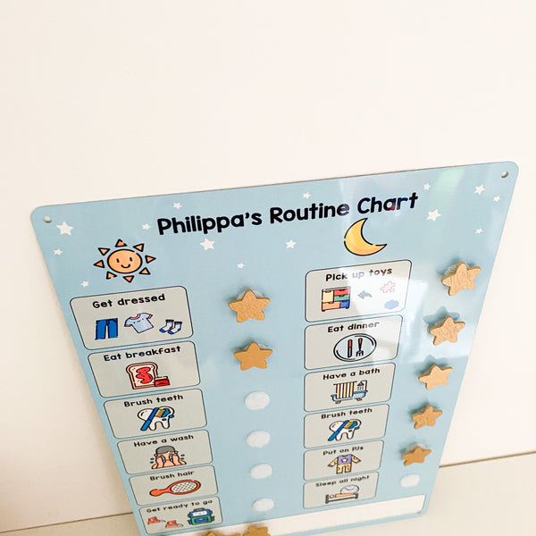 Children's Daily Routine Board