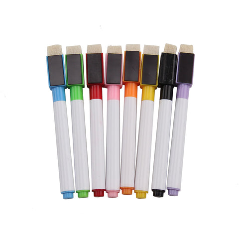 Set of Rainbow Whiteboard Markers